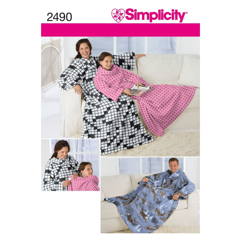 Simplicity Sewing Pattern 2490 Crafts Size A (S-M-L) by Simplicity Creative Group, Inc