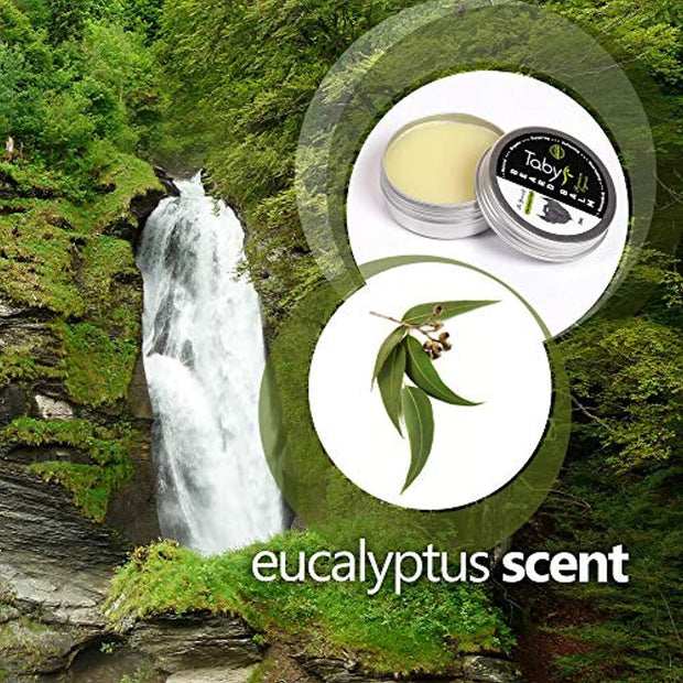 Beard Balm with Argan & Jojoba Oils - Eucalyptus Scent Conditioner - Legging Empire