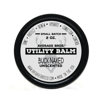 Buck Naked - Unscented Utility Balm - Legging Empire