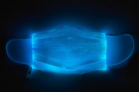 LED MASK - Fiber Optic *10 color* with SFX