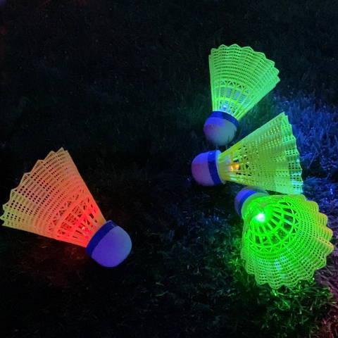 4 Glow Games - 4 pk of LED Birdies.