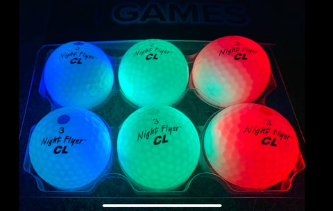 4 Glow Golf - 6 Ball CL Tournament Pack