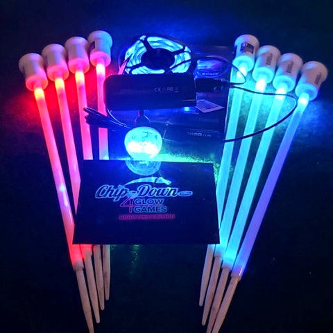 4 Glow Games  -  LED Night Kit