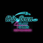 Chip-Down Game Set with 4 Glow Games LED Nighttime Kit