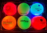 4 Glow Golf - 6 BALL Sample Pack