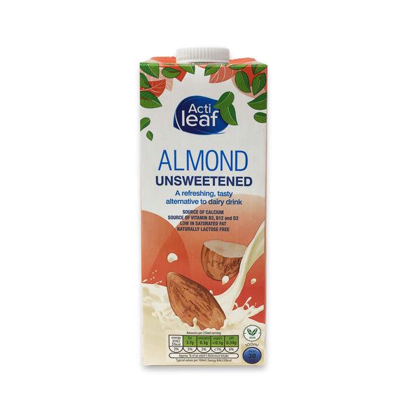 Almond Unsweetened - Acti Leaf - 1L