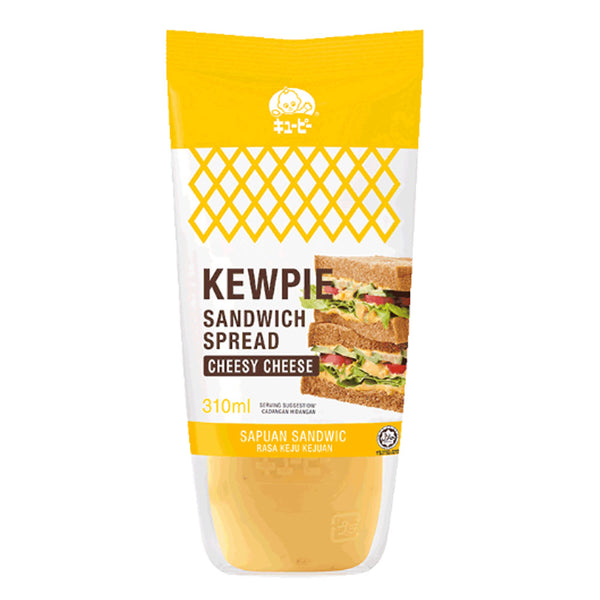Kewpie Sandwich Spread - Cheesy Cheese 310ml