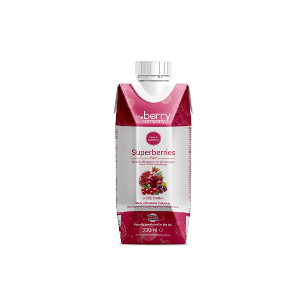 Berry Company Superberries Red 330ml