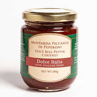 Spicy Bell Pepper Chutney Dolce Italia – 280g