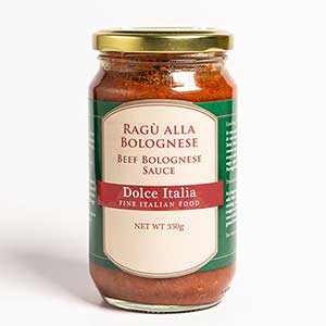 Beef Bolognese Sauce Dolce Italia – 350g
