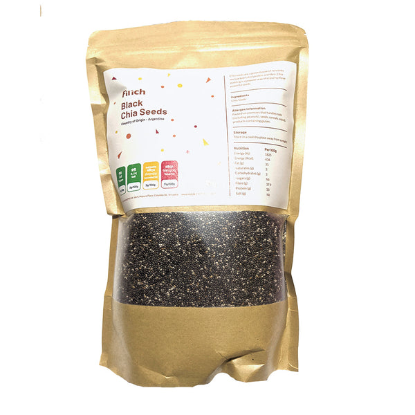 Black Chia Seeds 500g - Argentina