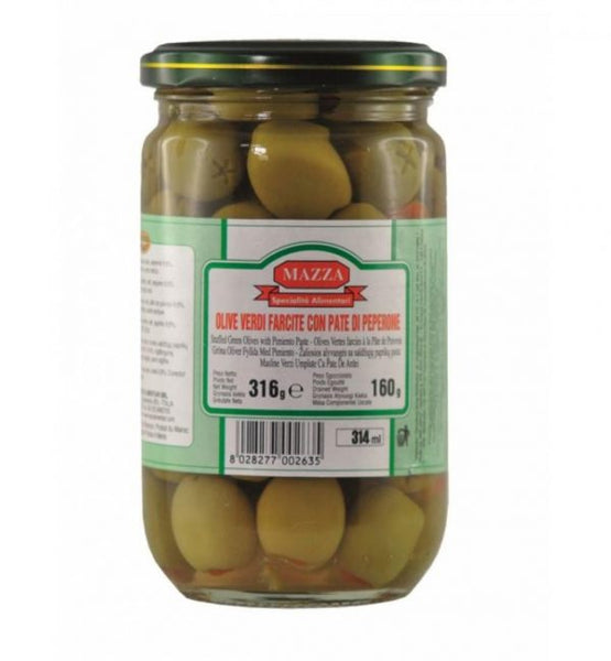 Green Olives With Pepper