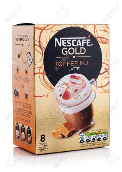 Nescafe Gold Toffee Latte