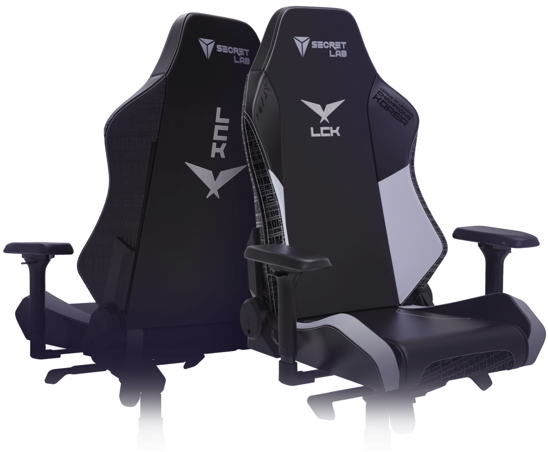 Secretlab x LCK - OMEGA and TITAN Special Edition Gaming Chairs