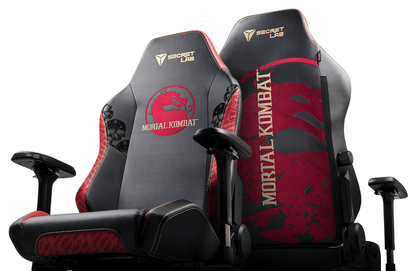 Secretlab x Mortal Kombat Edition Gaming Chairs