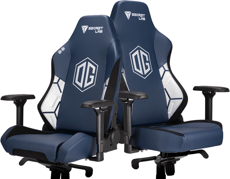 Secretlab x OG - OMEGA and TITAN Special Edition Gaming Chairs