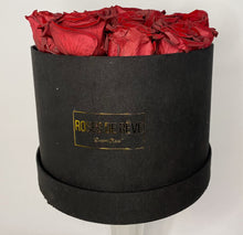 Load image into Gallery viewer, Large Suede Round (Red Roses)