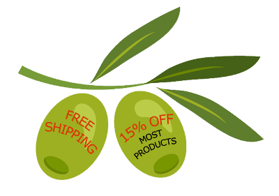 Free shipping, 15% off most products, and taste guarantee