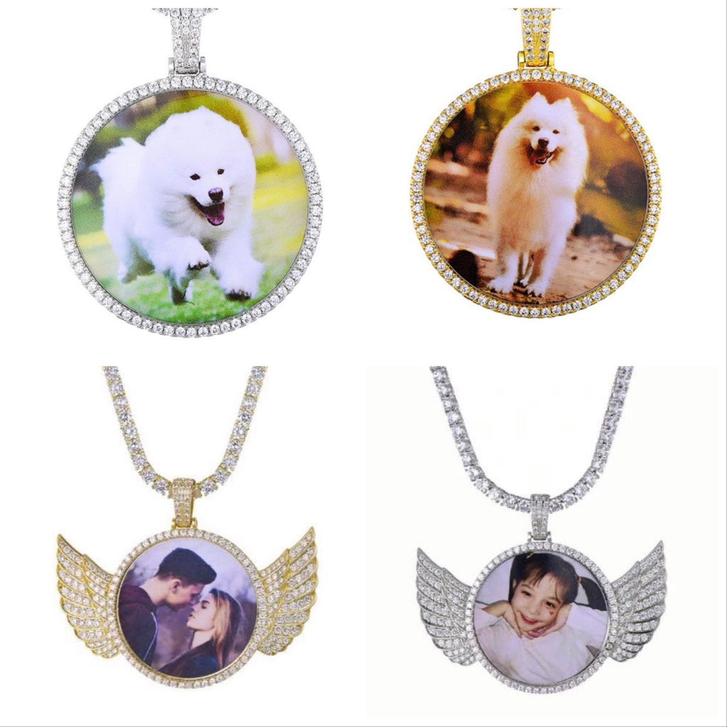 Photo Pendant Chain