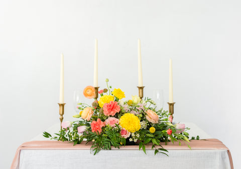 Long and Low Centerpiece
