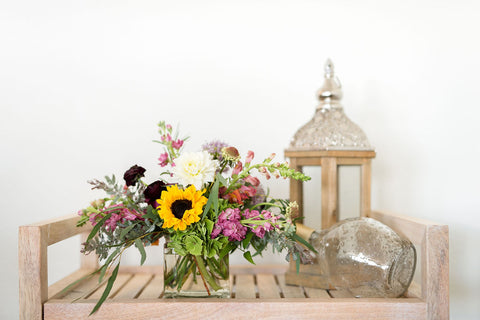 Thanksgiving Compact Centerpiece