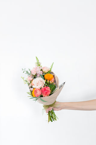 Classic Wrapped Flower Bouquet
