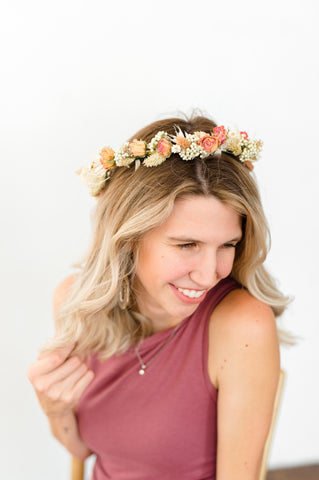 Dried Flower Crown