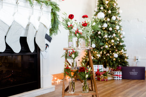 Christmas Bud-vase Bundle