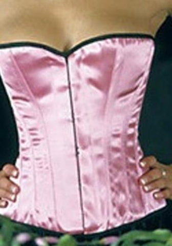 Simple Line Candy Pink Corset - She Said Boutique - 1