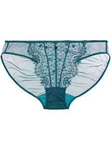 Vedette Spruce Green Lace Brief