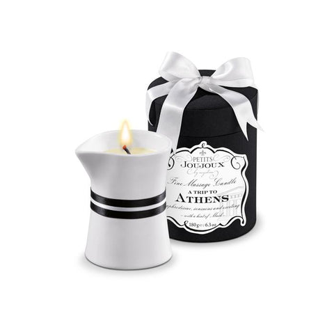 A Trip To Athens - Vegan Massage Candle by Petits Joujoux