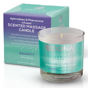 Aphrodisiac & Pheromone Massage Candle by Dona