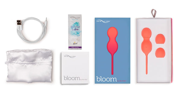 Bloom Vibrating Kegel Balls by We Vibe - New in store!