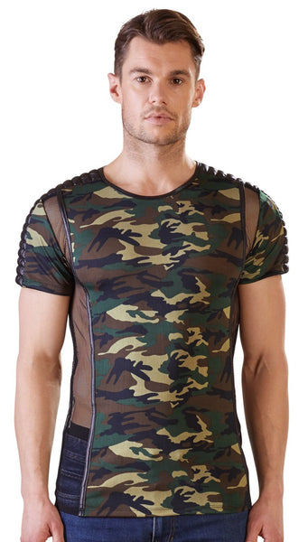 Camouflage T-Shirt by NEK