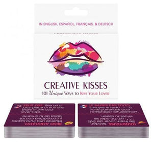 Creative Kisses Game Card