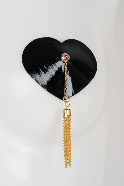 Nenette Heart Shine Chain Nipple Tassels