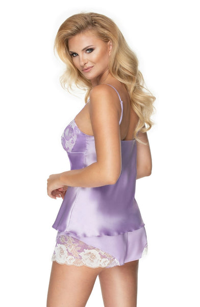 Sleepy Lavender Shorts & Cami PJ Set
