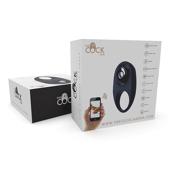 The Cock Cam - Cock Ring with Camera - New in store!