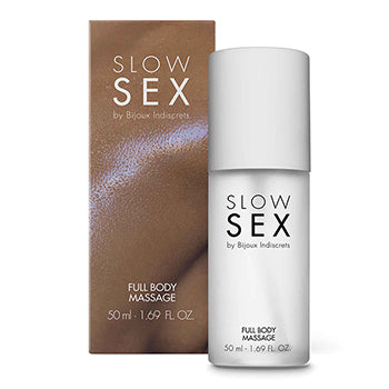 SLOW SEX Bijoux Full Body Massage Oil