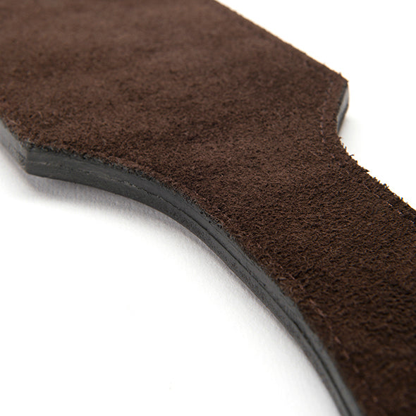 Brown Leather Paddle by Coco de Mer
