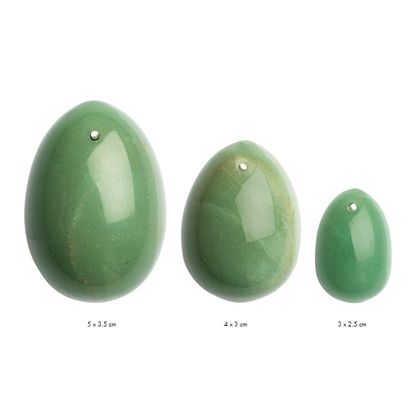 Yoni  Jade Kegel Egg Set by La Gemmes