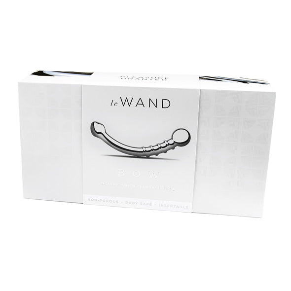 Stainless Steel Bow Dildo by Le Wand