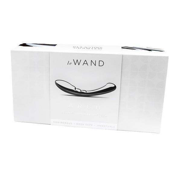 Stainless Steel Arch Dildo by Le Wand