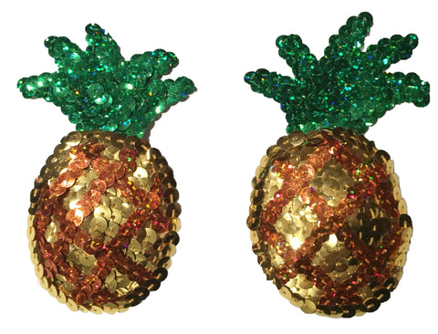 Fruity Pineapple Sequin Pasties