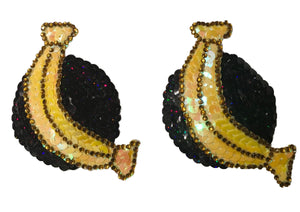 Bold Banana Nipple Pasties
