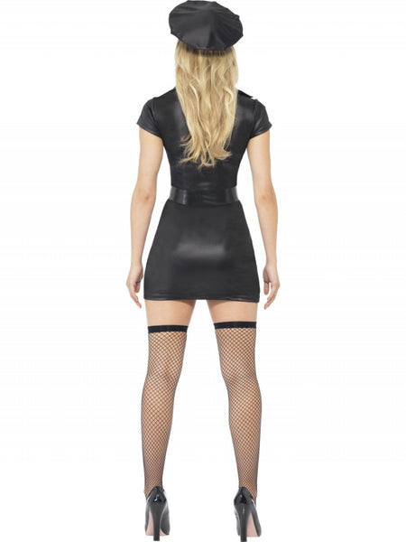 PVC Bad Cop Mini Dress Set