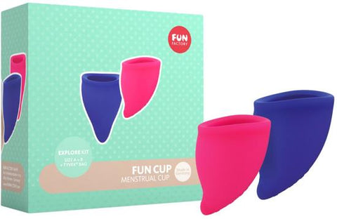 Fun Cup Menstrual Cup Explore Kit