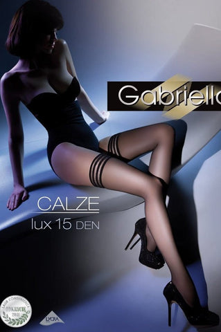 Calze Striped Hold Ups - She Said Boutique
