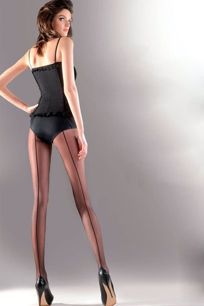 Linette Seamed Vintage Tights - She Said Boutique