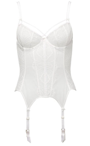 Maestra Sheer Lace Bustier